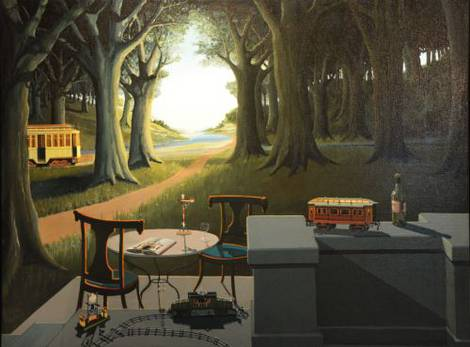 Joop Polder painting Dream of the Past