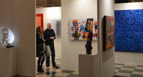 Holland america line s koningsdam u a floating art gallery